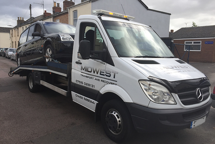 vehicle recovery service Gloucestershire